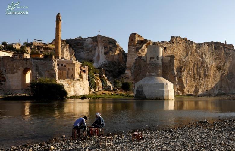 تصاویر/شهر دیدنی ترکیه که به زودی زیر آب خواهد رفت