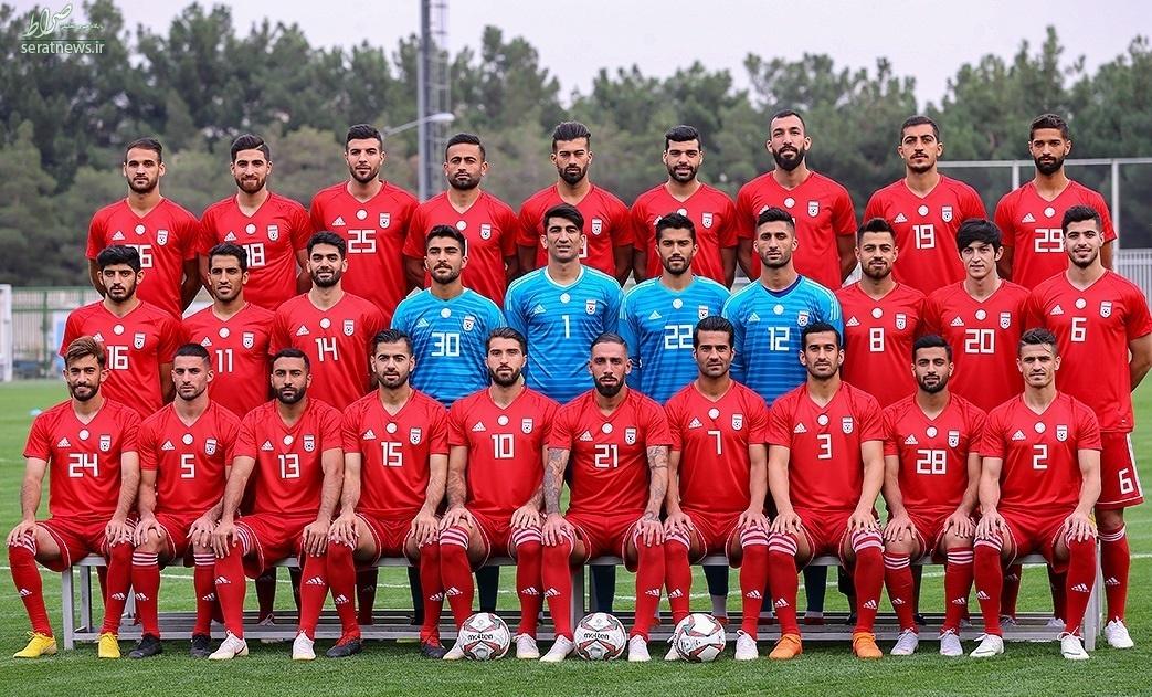 معمای بزرگ این روزهای تیم ملی در این عکس کدام بازیکن است؟