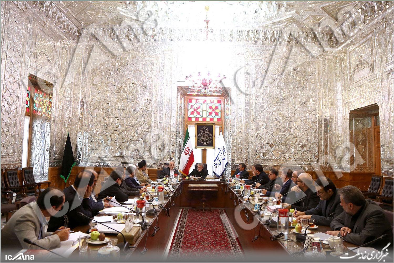 جلسه بررسی لایحه الحاق ایران به cft با حضور لاریجانی+تصاویر