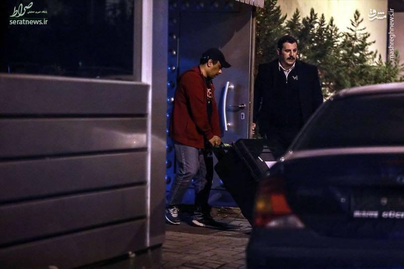 تصاویر/ ورود جعبههای مشکوک به داخل سفارت عربستان