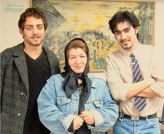 عکس/ تیپ جالب شهاب حسینی و بهرام رادان ۱۵ سال پیش