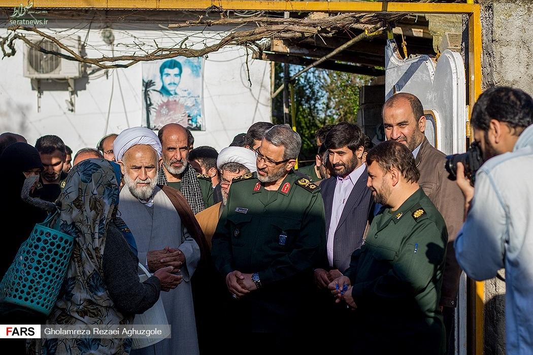 عکس/ بازدید سردار غیبپرور از مناطق سیلزده