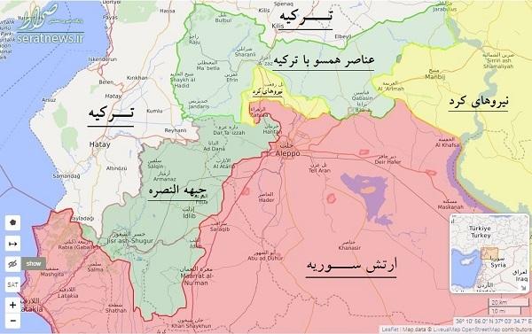 آزادی سه شهرک دیگر در استانهای حلب و ادلب سوریه