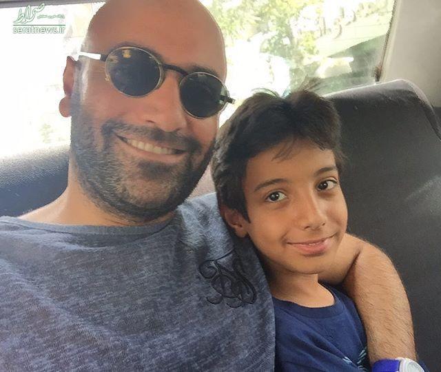 عکس/ همسر ریحانه پارسا در کنار پسرش آرسام
