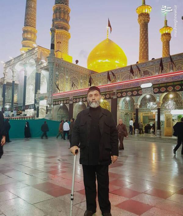 عکس/ روحانیای که توسط داعش سر بریده شد
