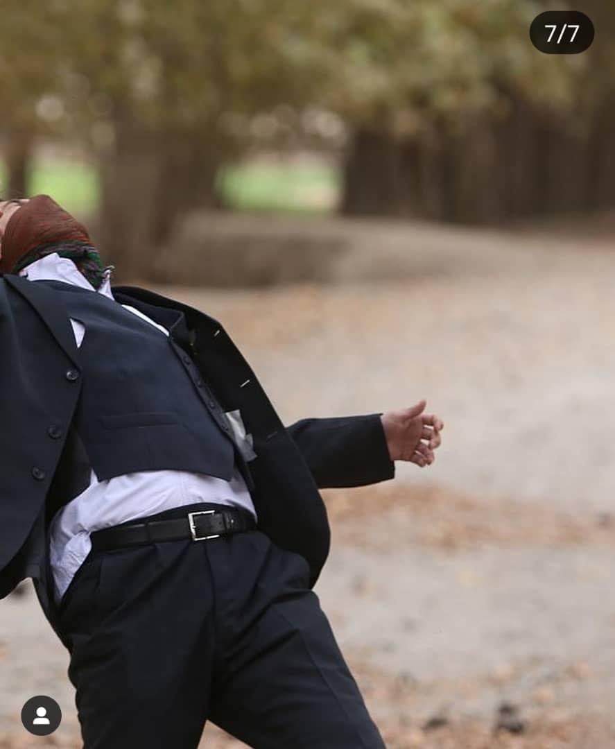 تصاویر/  لحظه تیر خوردن پسر وزیر کار