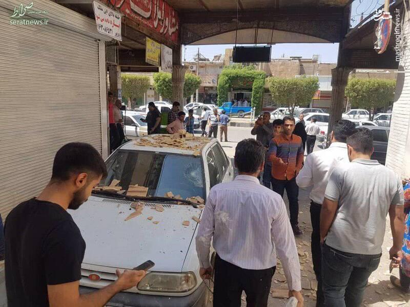 اولین تصاویر از خسارات زلزله ۵.۷ ریشتری مسجد سلیمان