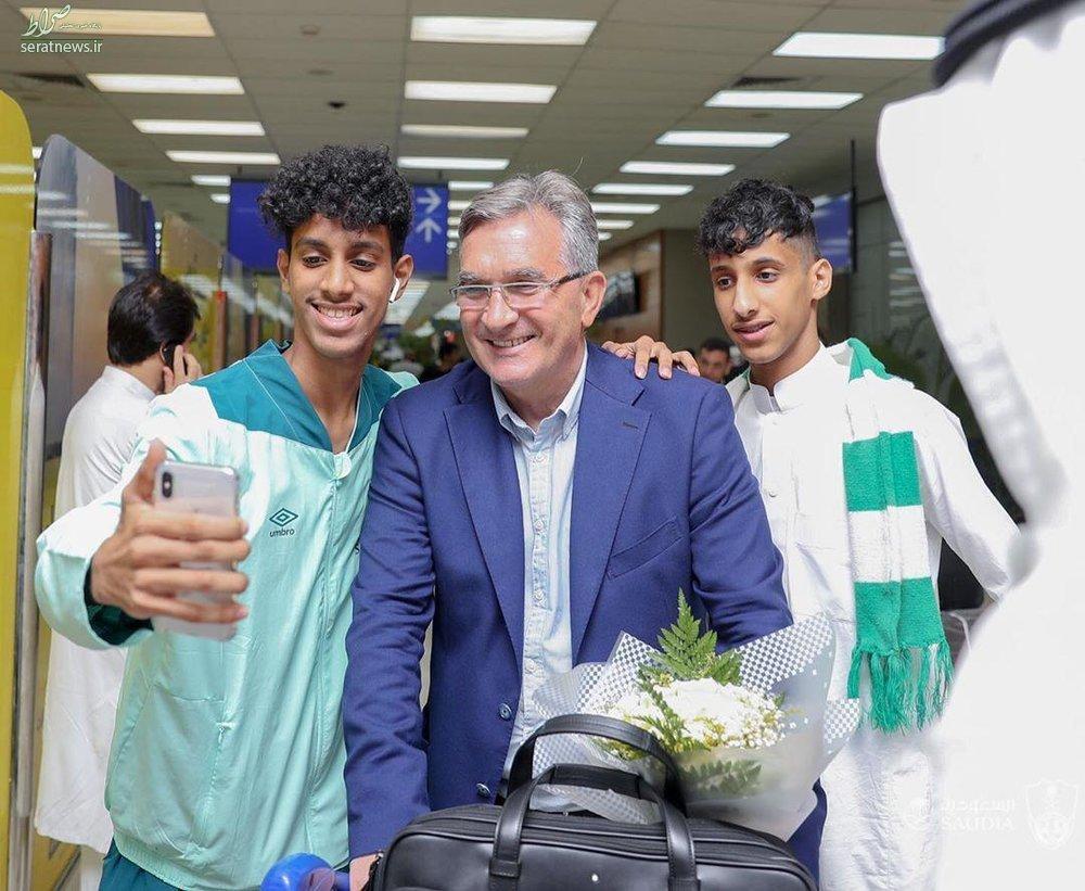استقبال گرم از برانکو در عربستان +عکس