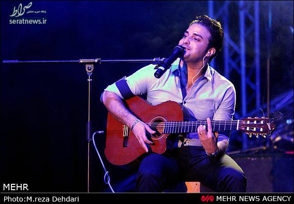سوتی خواننده معروف در کنسرت شب گذشته