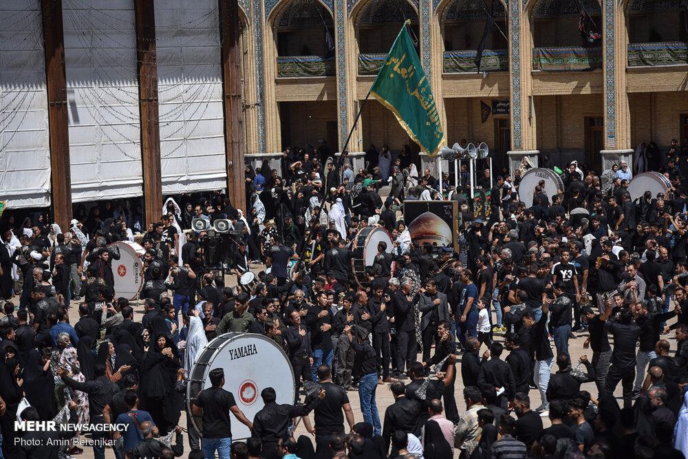 598181 904 تصاویر/ عزاداری تاسوعای حسینی در شیراز