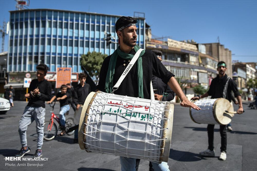 598182 649 تصاویر/ عزاداری تاسوعای حسینی در شیراز