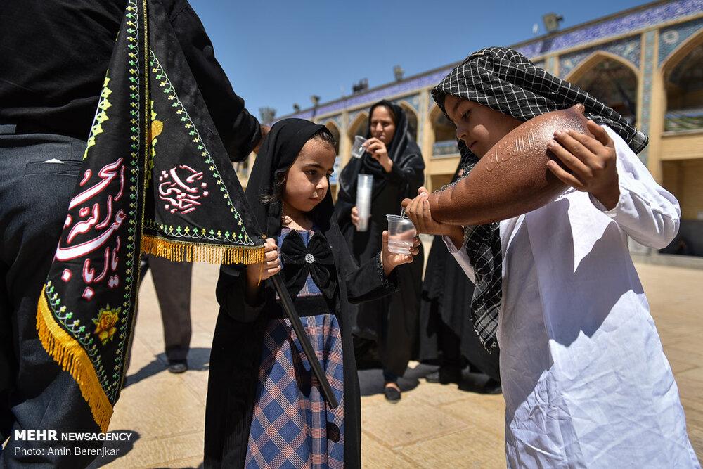598183 195 تصاویر/ عزاداری تاسوعای حسینی در شیراز