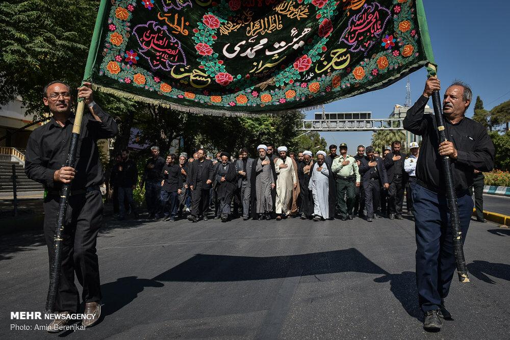 598188 232 تصاویر/ عزاداری تاسوعای حسینی در شیراز