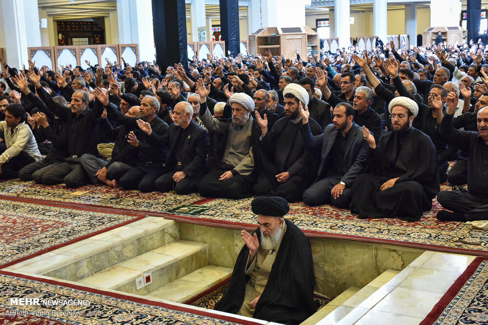 598189 345 تصاویر/ عزاداری تاسوعای حسینی در شیراز