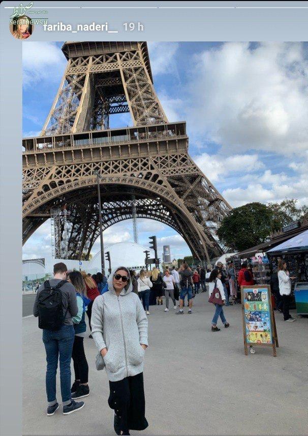 عکس/ بازیگر سریال ستایش در فرانسه