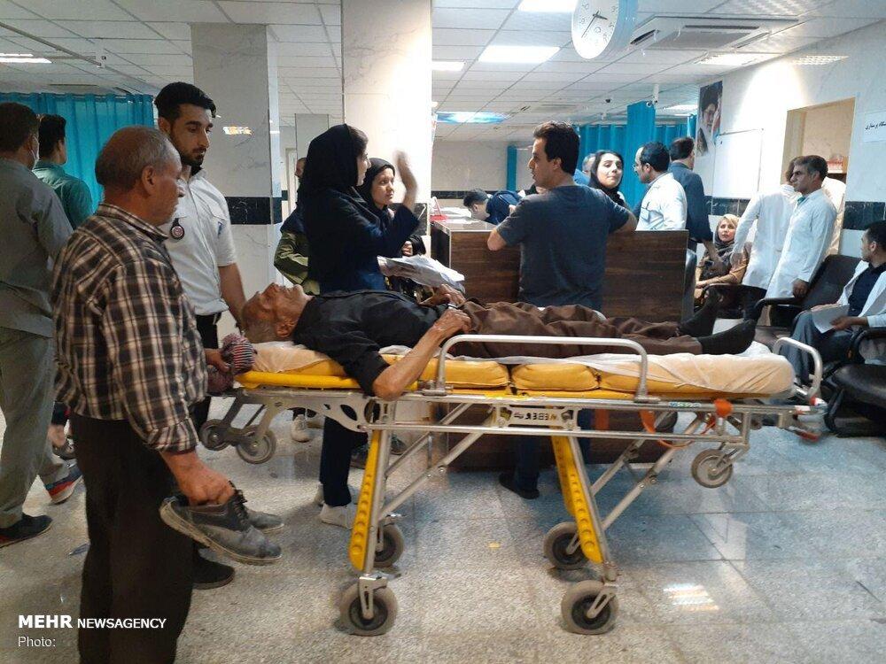 تصادف اتوبوس زائران ایرانی در واسط عراق+اسامی و تصاویر مجروحان