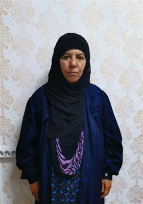 همسر و خواهر البغدادی بعد از دستگیری +تصاویر