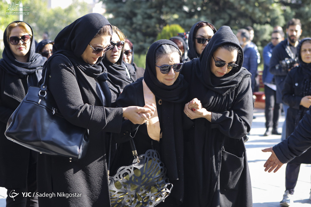 تصاویر/ مراسم تشییع پیکر مجید اوجی