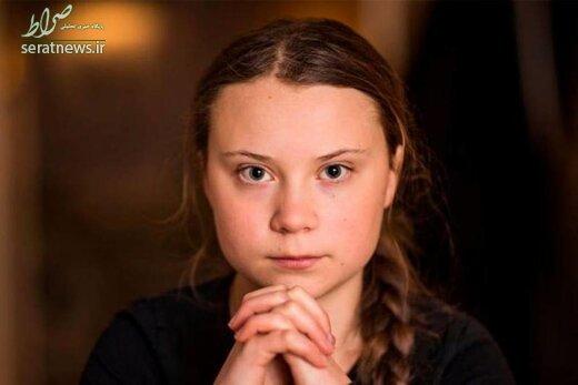 دختر 16 ساله شخصیت سال مجله تایم شد