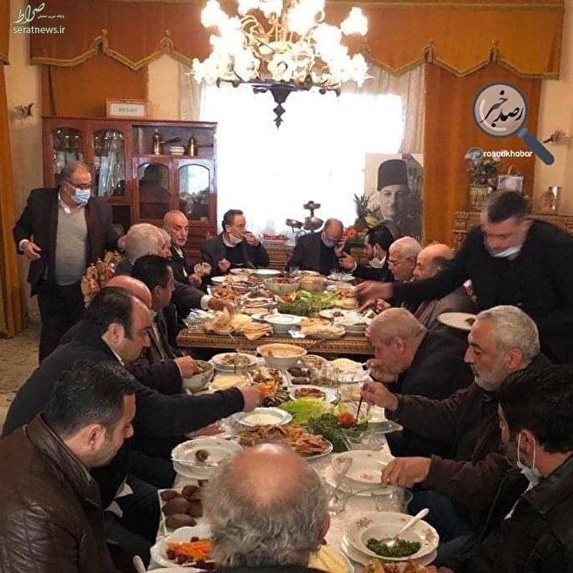 عکس/ حرکت عجیب وزير بهداشت لبنان!