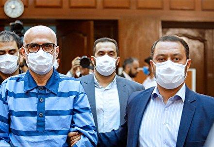 تصاویر/ اولین جلسه رسیدگی به اتهامات اکبر طبری