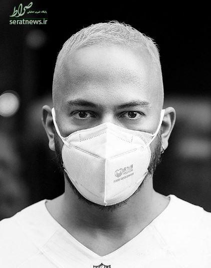 عکس/ ماسک زدن به سبک «اشوان»