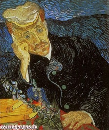 ونسان ون گوگ؛ تصویری از دکتر گجت؛ 1890  به مبلغ 82،500،000 دلار در سال 1990 فروخته شده است