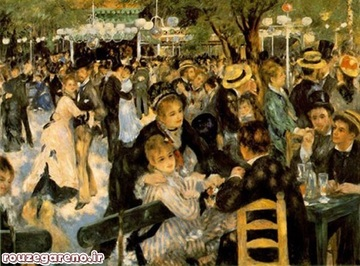 پیر آگوست رنوار؛ باله در لو مولین د لا؛ 1876  به مبلغ 78،100،000 دلار در سال 1990 فروخته شده است
