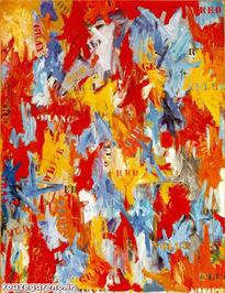 جسپر جانز؛ شروع کاذب، 1959  با قیمت 80 میلیون دلار در 2006 به فروش رسید