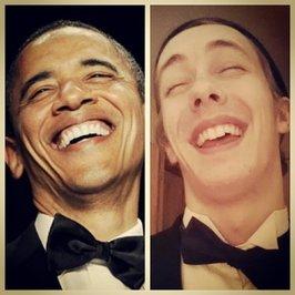 سلفی شبیه سازی شده اوباما