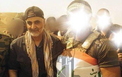تصویر منتشرشده از «قاسم سلیمانی» در عراق