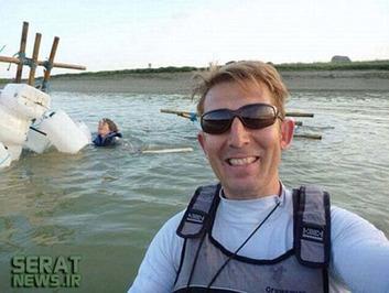 زنی در حال غرق شدن است، اما این مرد فرصتطلب ترجیح داده قبل از نجات او یک سلفی یادگاری به ثبت برساند!