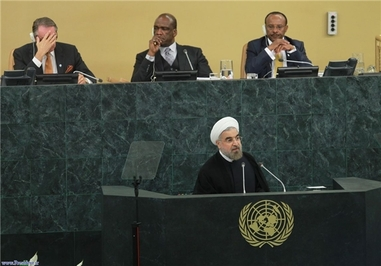 سخنرانی «حسن روحانی» رئیسجمهور ایران در شصت و نهمین مجمع عمومی سازمان ملل