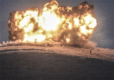 حمله هوایی ائتلاف بینالمللی علیه داعش به تپه «تل سحیر» در سوریه