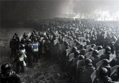 تظاهرات غربگرایان؛ مقدمه بروز بحران در اوکراین
