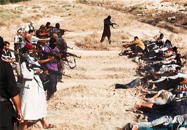داعش سلاحهای خود را به سمت نظامیان عراقی نشانه گرفتهاند