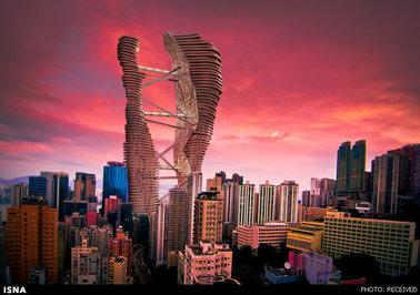 طرح برج مسکونی Studio Cachoua - هنگکنگ