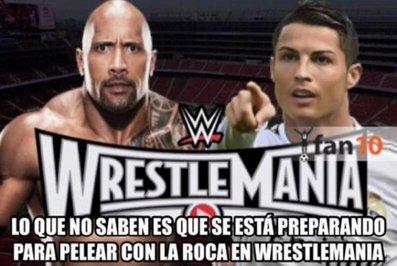 رونالدو: نمی دانید که در حال آماده شدن برای مبارزه با راک در