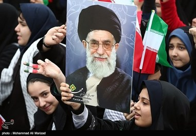 شکوه حضور مردم دلاور ایران در راهپیمایی 22 بهمن 1393 ،مرحبا برغیرت و بصیرتتان