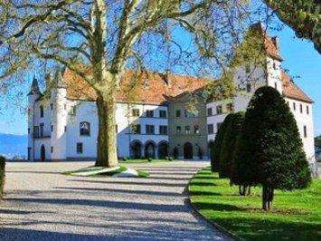 سوئیس: قلعه ای در مجاورت دریاچه ژنو و کوه های مونت بلانک با ۱۴۸ هکتار وسعت و ۱۳۱.۵ میلیون دلار قیمت