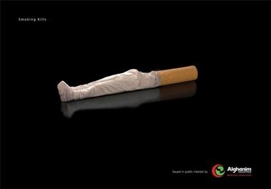 هرچه بیشتر سیگار بکشید زودتر میمیرید!