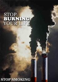 سوختن زندگی خود را متوقف کنید.