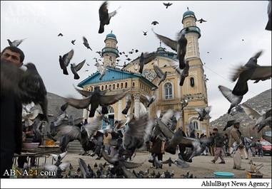 مسجد شاه دوشمشیره در مرکز کابل
