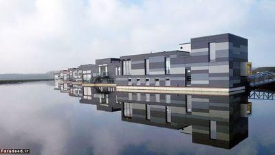 درییف در لِلاستاد؛ طرح این منطقه مسکونی توسط گروهی از خانوادههایی که در هلند عاشق آب و دریا بودند مطرح شد. معنای این عبارت بدین صورت است: «در لِلاستاد شناور باشید.» «آتیکا آرکیتِکن» که دفتر اصلی آن در آمستردام است این مجموعه را طراحی کرد. این مجموعه با شهر 40 کیلومتر فاصله دارد. گفتنی است زمانی که کار ساخت سازهها به اتمام رسید، آنها را بر روی کیسونهای بتونی قرار داده و به حالت شناور بر روی آب کشیدند. در مجموع هشت خانه با اسکلت چوبی در این مجموعه مسکونی قرار دارد. البته مشخصات هر خانه مطابق انتظار همان خانواده طراحی شده است.