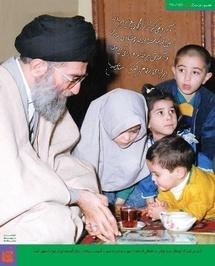 آرزو میکنم که کودکان عزیز ایرانی در فضایی انباشته از مِهر و شادی به درس و آموزش بپردازند و برای آیندهی ایران خود را مجهز کنند.