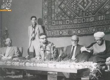 مهندس بازرگان، ابراهیم یزدی و مصطفی چمران در سفر به الجزایر