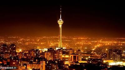 تهران پایتخت ایران که یک خرابه بزرگ است، این شهر هیچ جذابیتی در شب ندارد و خیلی هم معمولی است!