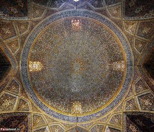 مساجد هر چیزی هست غیر از بدیع و خلاقانه؛ یک بچه هم می تواند کاشیهای مسجد سید اصفهان را بکشد!