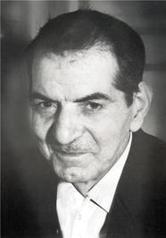 چهره استاد سید محمدحسین شهریار در میانسالی/عکس از استاد علی صادق نخجوانی