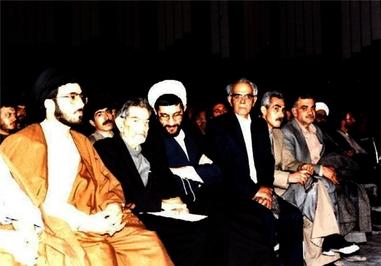 حضور استاد سید محمدحسین شهریار در مراسم سالگرد پیروزی انقلاب اسلامی درتبریز